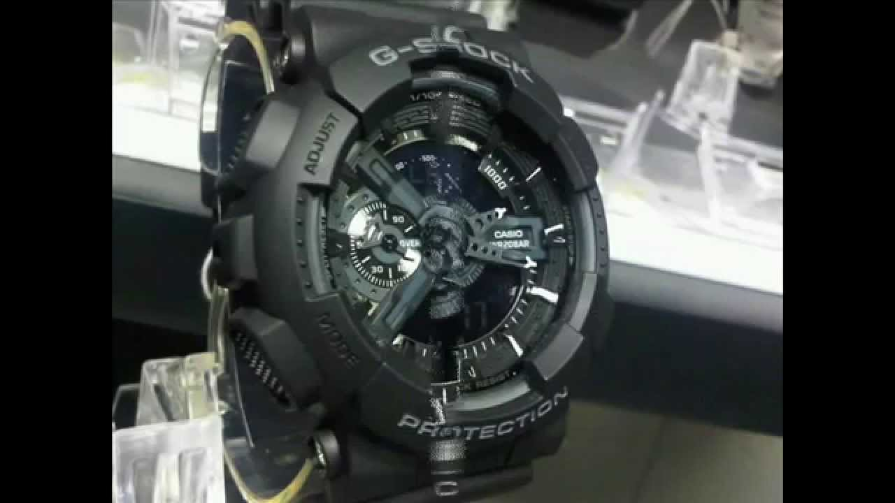 9dc92693067 G-Shock X-Large Combination Watch -Military Black - YouTube