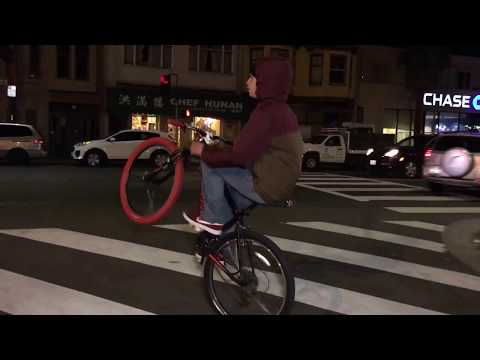 San Francisco Night Rideout First Friday October 2017