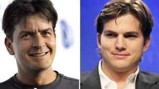 Charlie Sheen Thinks Ashton Kutcher Sucks on Two and a Half Men