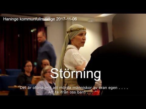 2017-11-07 Haninge kommunfullmäktige - Urfolk