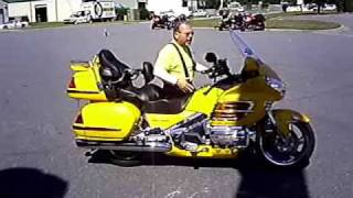 Moving a Goldwing around without power