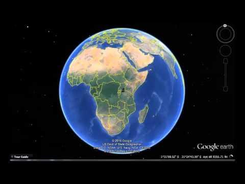 Seychelles Google Earth View