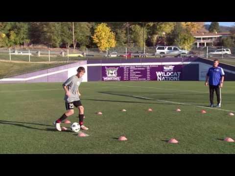 Basic Youth Soccer Drills  Dribbling 5