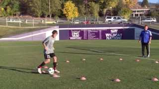 basic youth soccer drills dribbling 5