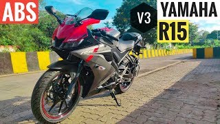 YAMAHA R15 V3 ABS 2019 Road Review | Mileage | Price