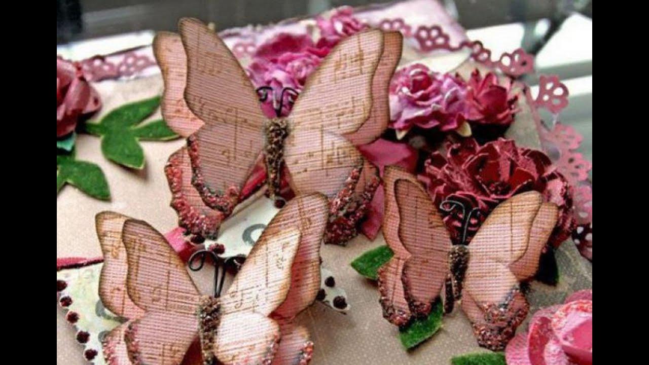 Своими руками подарок бабочки