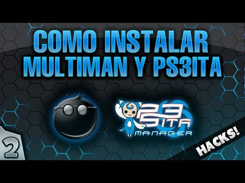 Ps3ita manager (fork) by developer's of team ps3ita.