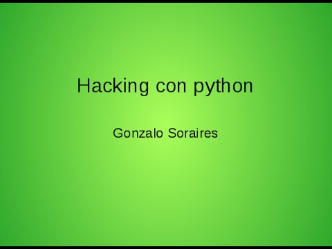 hacking con python 01 ita