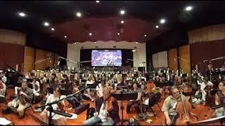 Pixar Coco Orchestral Scoring Session 360-Degree