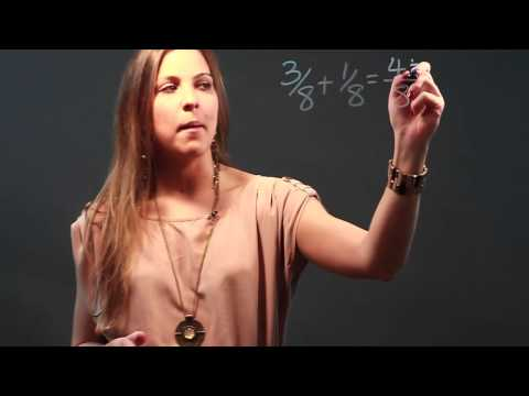 How to Add and Subtract Fractions and Put Them in Lowest Terms