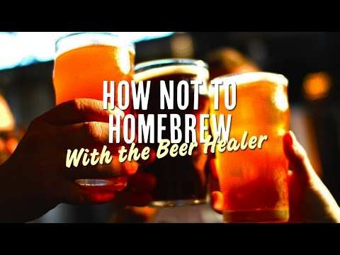 How Not To Home Brew - Bottling