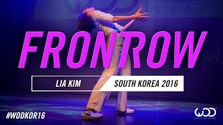 LIA KIM | FrontRow | World of Dance South Korea Qualifier 2016 | #WODKOR16