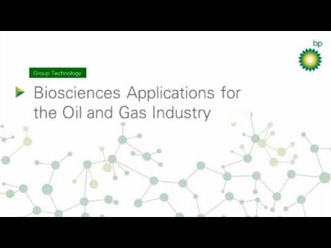 BP-ICAM Webinar Series 2017: Biosciences for Oil and Gas