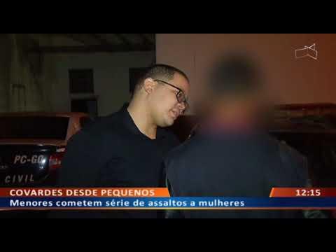 DF ALERTA - Menores cometem série de assaltos a mulheres