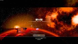 new login screen of the EVE-Online Crucible Expansion
