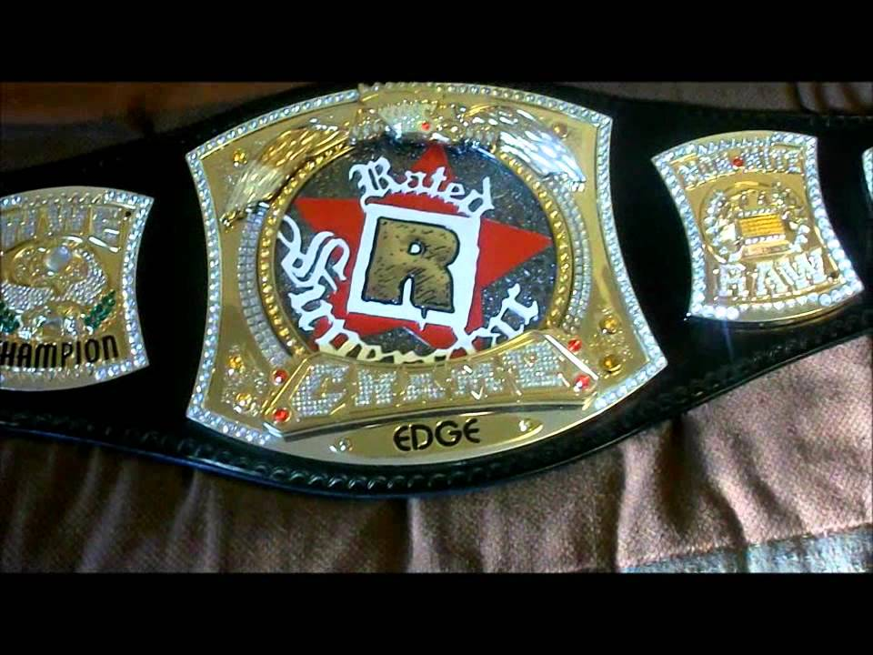 Wwe Rated R Spinner Belt Review Youtube