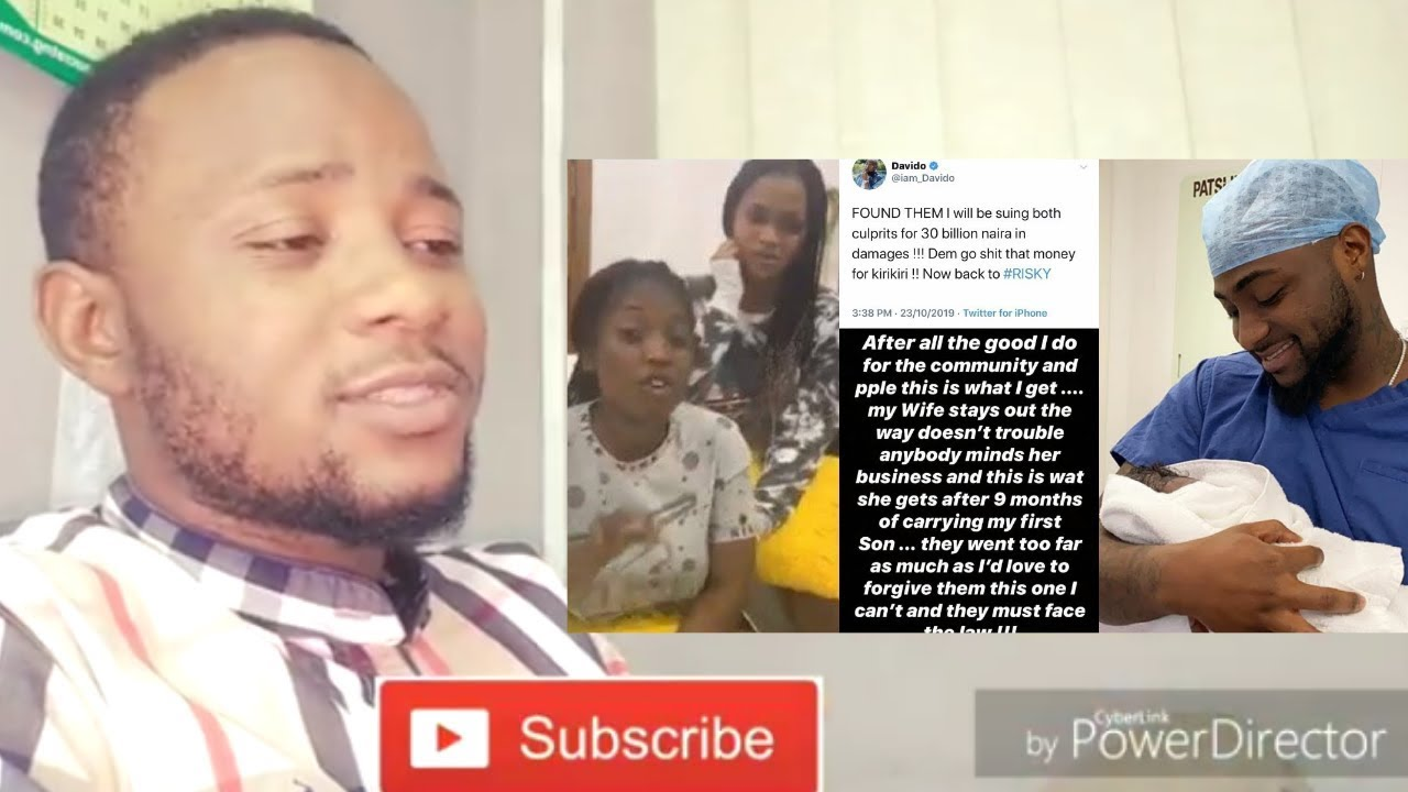 Lady Apologize To Davido And Chioma For Lying Over Pregnancy Risky