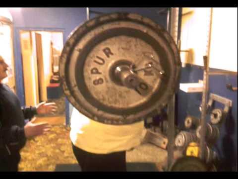 360 kg - 793 pounds squat at my local gym glenn ross strongman