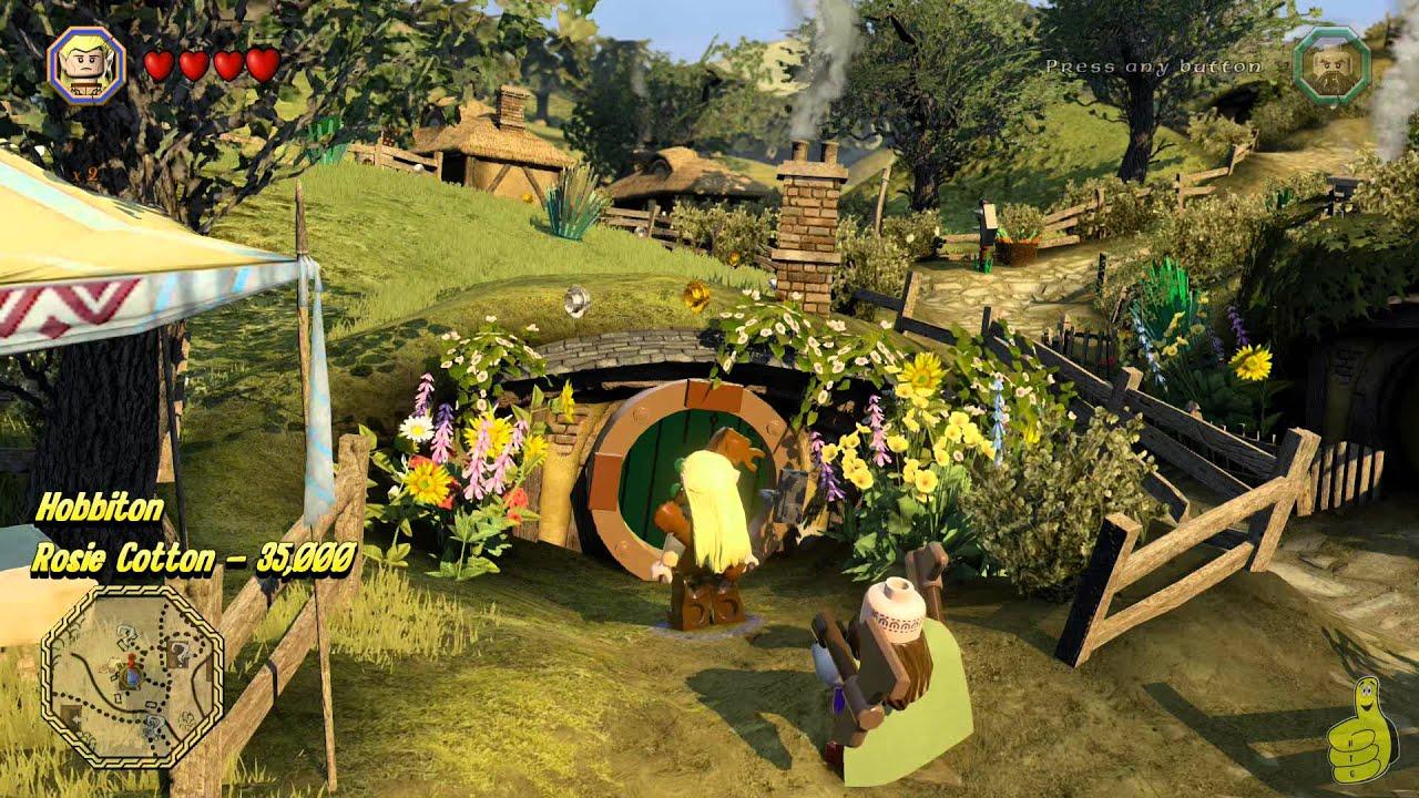 Lego Lord Of The Rings Free Roam Hobbiton