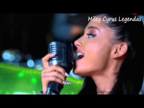 Miley Cyrus - Don't Dream It's Over (Cover) Feat. Ariana Grande [Legendado] ᴴᴰ