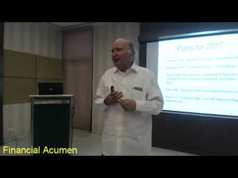 Prof. MM Pant - Financial Acumen
