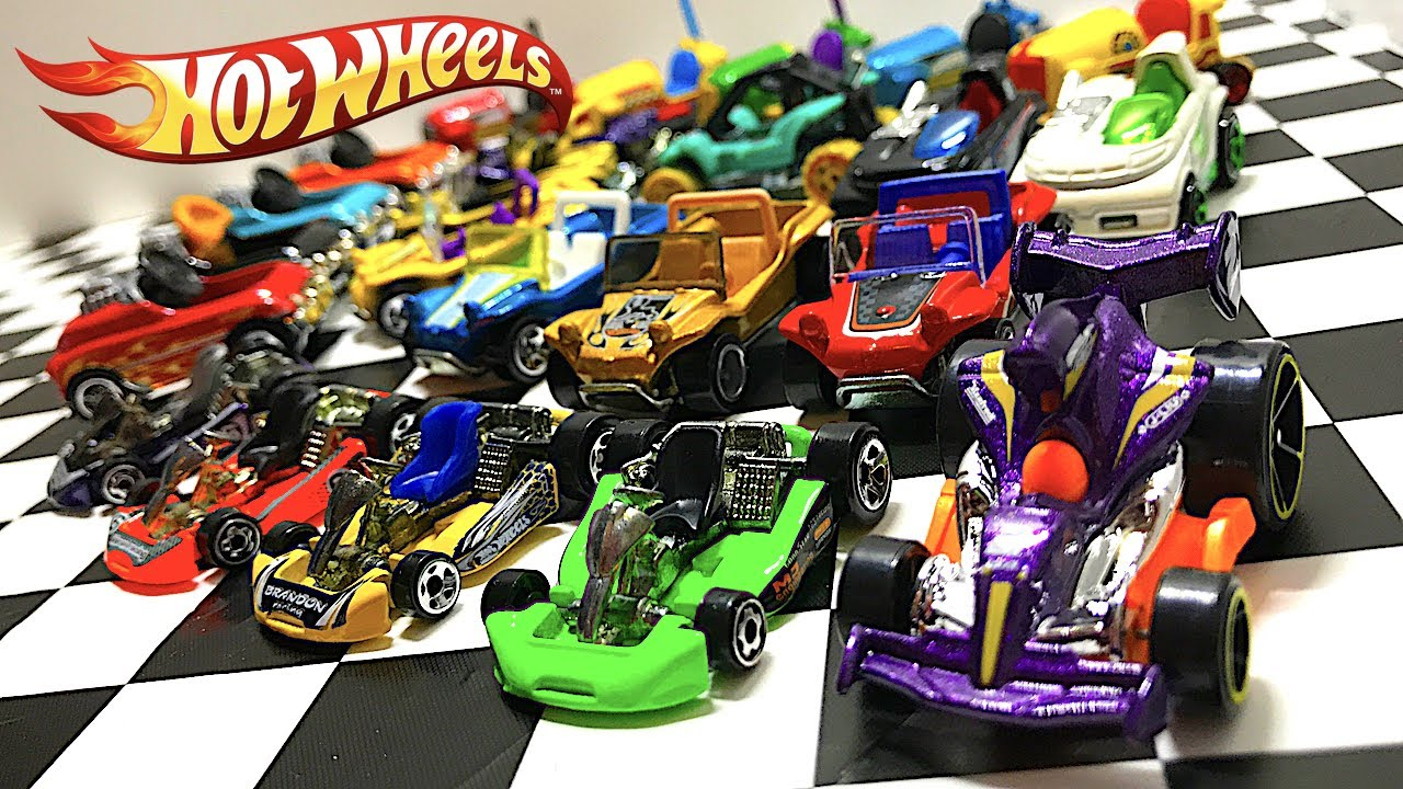 hot wheels fun car collection go karts dune buggies and. Black Bedroom Furniture Sets. Home Design Ideas