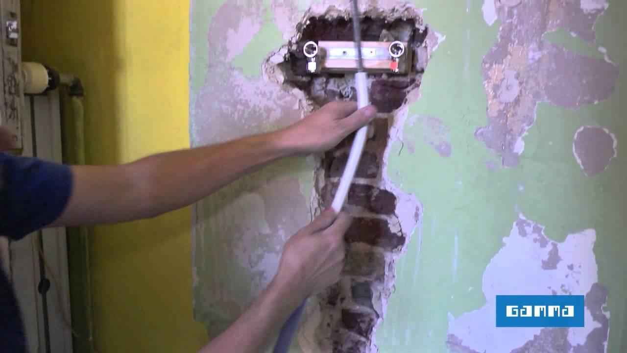 remplacer une baignoire par une douche - vidéo bricolage | gamma ... - Changer Le Robinet D Une Baignoire