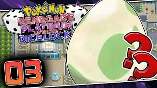 WHAT WILL THE EGG HATCH BE?! Pokemon Renegade Platinum Extreme Dicelocke Part 03 w/ HDvee