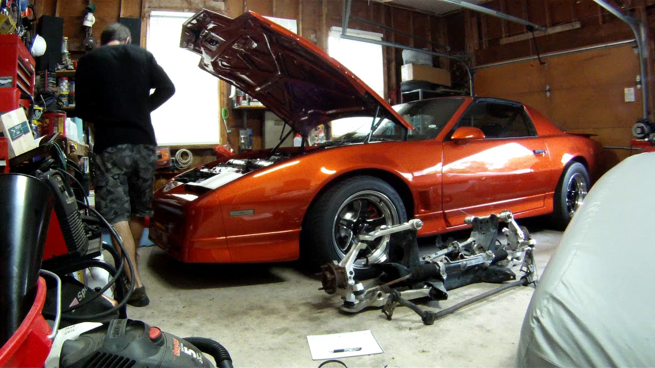 I'm putting a C4 front suspension into my trans am!! - Third