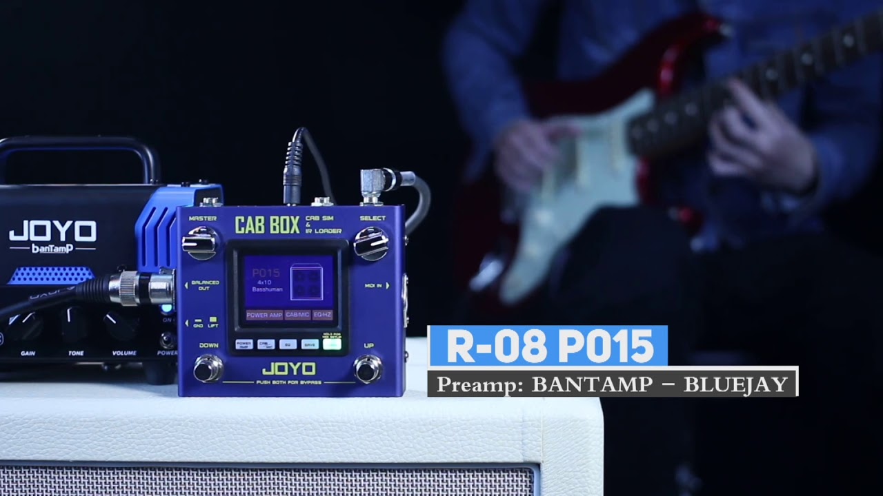 Joyo reveals feature-rich, affordable Cab Box IR loader | MusicRadar