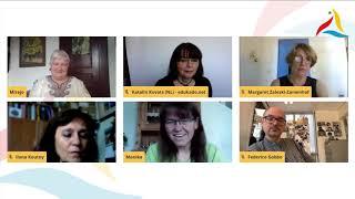 VK 2020: Tago de Lernado: diskuta momento kaj ferma mesaĝo de Mirejo Grosjean (ILEI)