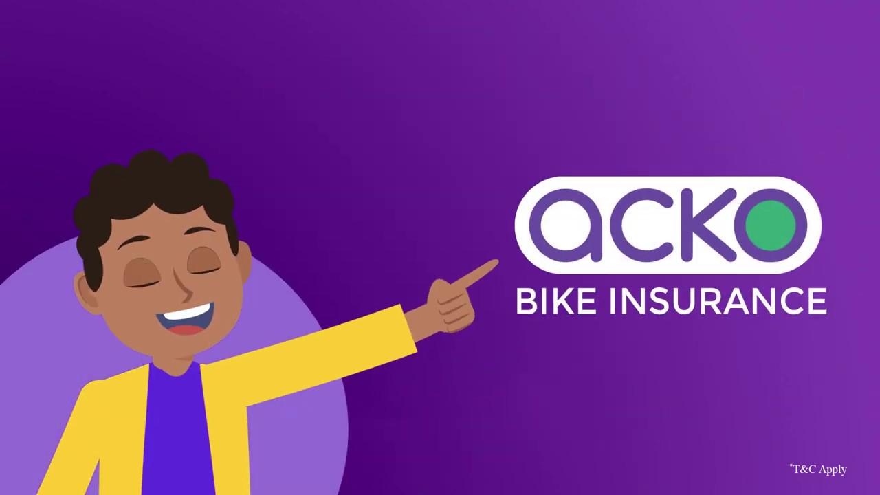 Acko General Insurance - Bike Insurance in 2 minutes! - YouTube