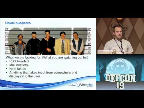 DEF CON 19 - Kyle 'Kos' Osborn, Matt Johanson - Hacking Google Chrome OS