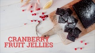 Cranberry fruit jellies [BA Recipes]