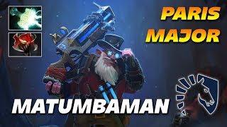 MATUMBAMAN Super Fast Sniper | Liquid vs EG | PARIS MAJOR DOTA 2