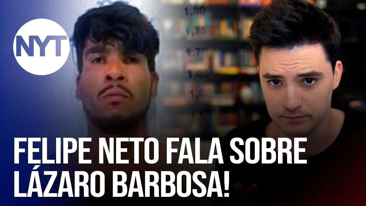 Lázaro comete mais 19 crimes em fuga da policia, Felipe Neto fala sobre Lázaro Barbosa