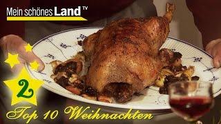 Gänsebraten mit Steckrüben  | Top 10 Rezepte für Weihnachten