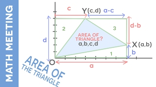 Area of a Triangle - Fun challenging math problem