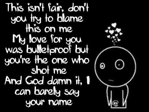 Pierce The Veil - Bulletproof Love - Lyrics