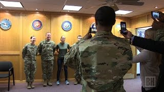 RI teen becomes 11th woman to sign up for Infantry
