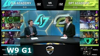 Video CLG Academy vs OpTic Gaming Academy | Week 9 of S8 NA Academy League Spring 2018 | CLGA vs OPTA download MP3, 3GP, MP4, WEBM, AVI, FLV Juni 2018