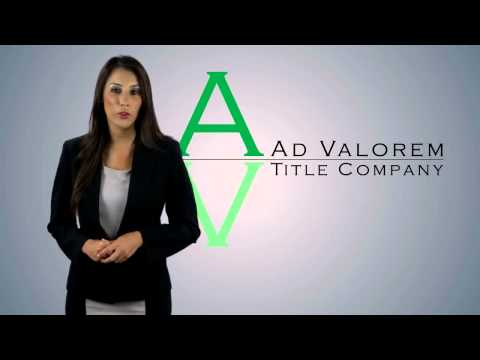 Corporate Video - Real Estate - Ad Valorem Title Company - OMG National - Florida