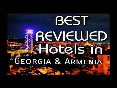 WHERE TO STAY In GEORGIA AND ARMENIA || Hotels With Panoramic Views