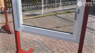 Okno Drewniane  - System Skandynawski otwierane na zewnątrz okno angielskie – Prezentacja produktu