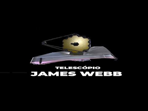 TELESCÓPIO MAIS POTENTE DO MUNDO  - JAMES WEBB - SIMULAÇÃO