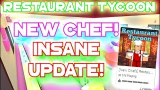 Roblox - France Restaurant Tycoon WORLD STAR CHEF!! NOUVEAUX CHEFS! FAITES VOTRE PROPRE NOURRITURE / CHEF MAINTENANT! [Mise à jour]