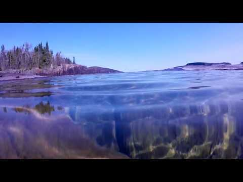 Crystal Clear Lake Superior.
