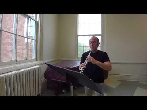 Ferling Oboe Study No. 2, Aaron Hill