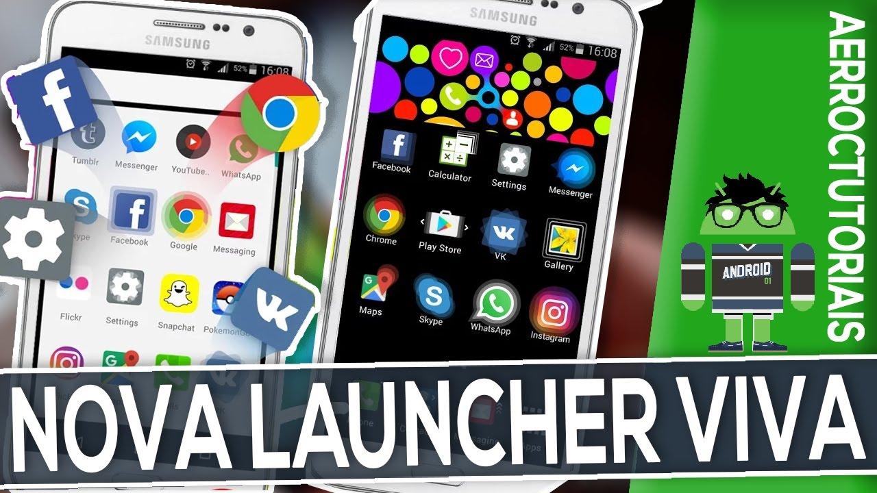 Nova launcher android tv box