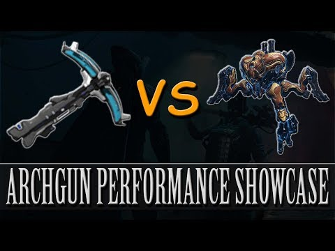 Warframe - Arch-Gun Performance Showcase (Profit-Taker Orb) thumbnail